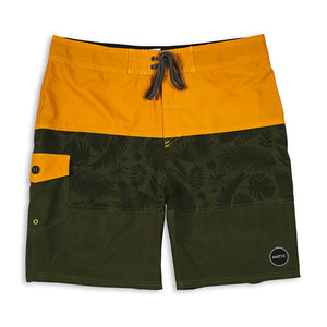 MATIX PALMS BOARDSHORT GOLD