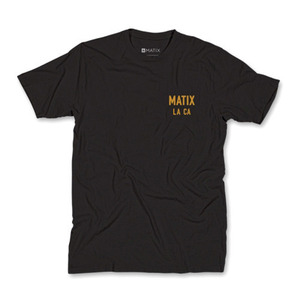 MATIX CLUB T-SHIRT BLACK