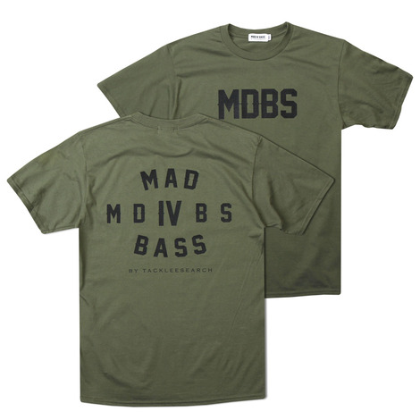 [MAD FOR BASS]MDBS S/S TSHIRT(MILITARY GREEN) [5월말입고예정]