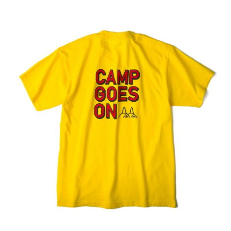 일시품절 4.22 부터 배송예정SPECIAL PRICE ~ 4.28CAMP GOES ONS/S T-Shirts(Yellow)