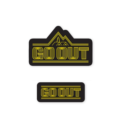 GO OUT KOREAWaterproof Sticker Set 2 30% OFF
