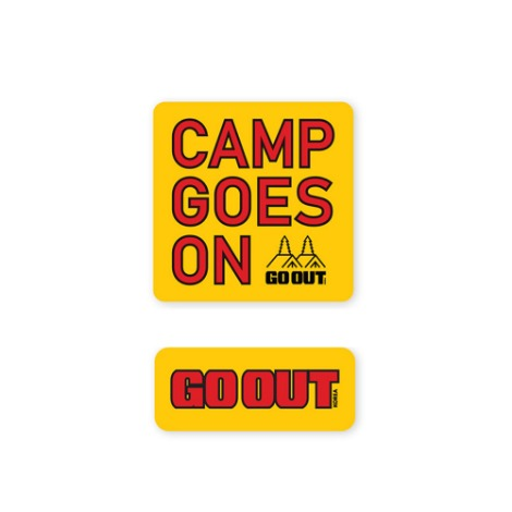 GO OUT KOREAWaterproof Sticker Set 4 30% OFF