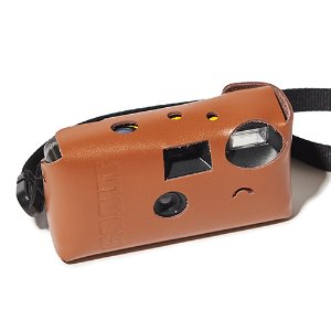 [GO OUT x URBANDTYPE]Disposable Camera leather Case_Tan